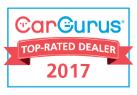 CarGurus Top-Rated Dealer 2017